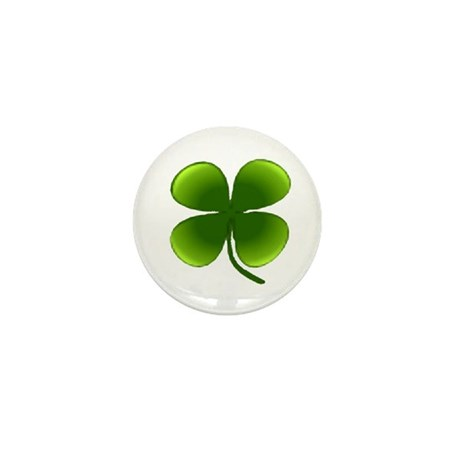 Shamrock Mini Button (10 pack)