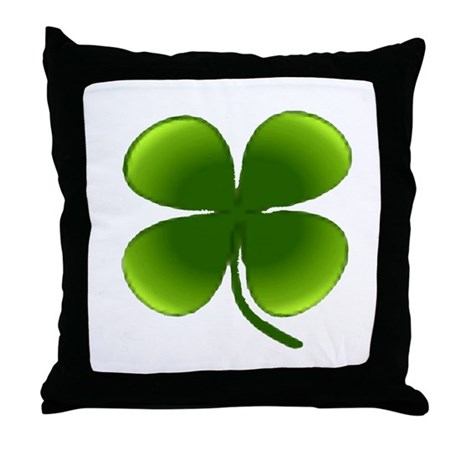Shamrock Throw Pillow