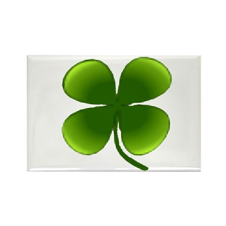 Shamrock Rectangle Magnet (100 pack)