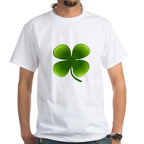 Shamrock White T-Shirt