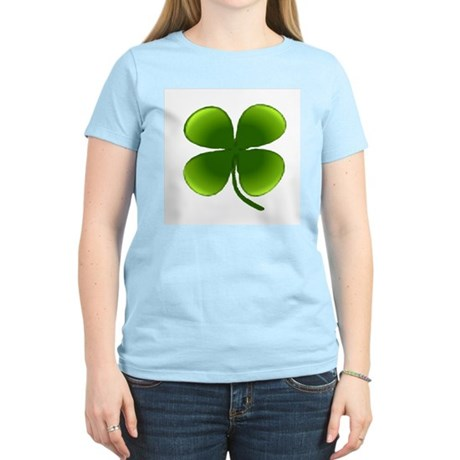 Shamrock Women's Pink T-Shirt