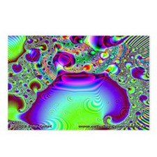 Fractal C~09 Postcards (8 Pack)