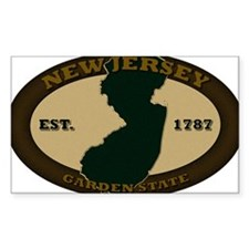 New Jersey Est 1787 Decal
