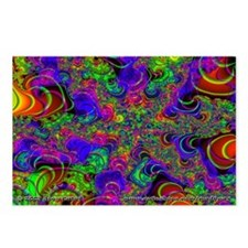 Fractal C~14 Postcards (8 Pack)