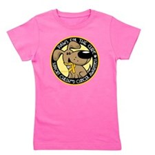 Paws-for-the-Cure-Childhood-Cancer Girl's Tee