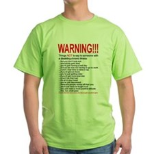 8x10illness_warn1 T-Shirt