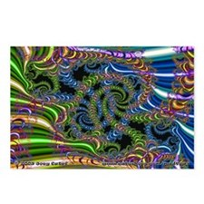 Fractal C~20 Postcards (8 Pack)