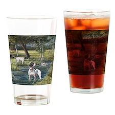 German Shorthaired Pointerd Drinking Glass