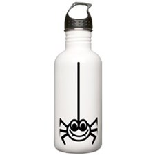 spider_comic_smile Water Bottle