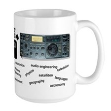 Amateur Radio is Knowledge Mugs