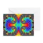 Fractal FR~16 Greeting Cards (10 Pack)