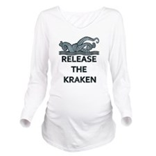 kraken Long Sleeve Maternity T-Shirt