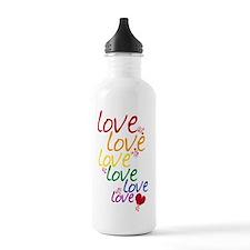 love is love2 Water Bottle