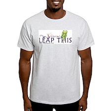 LEAP THIS Ash Grey T-Shirt