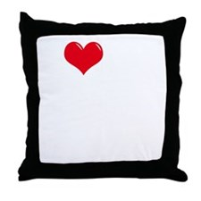 I-Love-My-Schipperke-dark Throw Pillow
