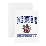 MCHUGH University Greeting Cards (Pk of 10)