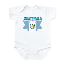 The Guatemala flag ribbon Infant Bodysuit