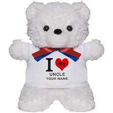 I Heart My Uncle (Custom) Teddy Bear