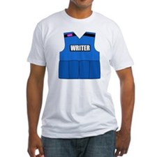 writerbutton Fitted T-Shirt