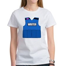 writerbutton Women's T-Shirt