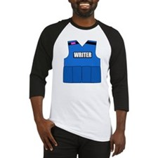 writerbutton Baseball Jersey