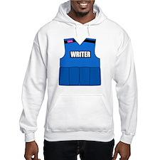 writerbutton Hooded Sweatshirt