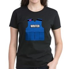 writerbutton Women's Dark T-Shirt