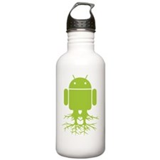 Large Rooted Android Water Bottle