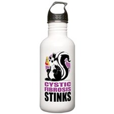 Cystic-Fibrosis-Stinks Sports Water Bottle