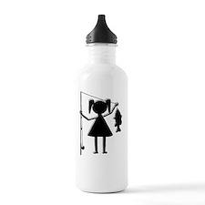 finalreelgirl4white Water Bottle