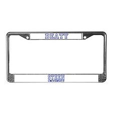 BEATY University License Plate Frame