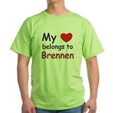 My heart belongs to brennen T-Shirt