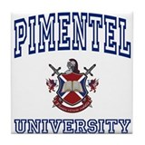 PIMENTEL University Tile Coaster