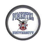 PIMENTEL University Wall Clock