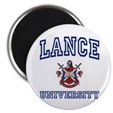 "LANCE University 2.25"" Magnet (100 pack)"