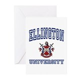 ELLINGTON University Greeting Cards (Pk of 10)