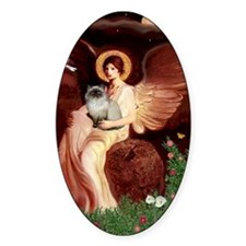 Seated Angel - Himalayan cat 7 Decal