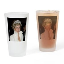 Princess Diana Hong Kong Drinking Glass