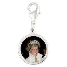 Princess Diana Hong Kong Silver Round Charm