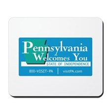 Welcome to Pennsylvania - USA Mousepad