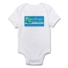 Welcome to Pennsylvania - USA Infant Bodysuit