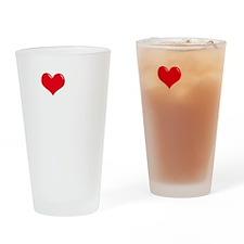 I-Love-My-Papillon-dark Drinking Glass