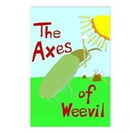 Axes of Weevil Postcards (Set of 8)