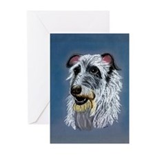 Scottish Deerhound Dog Greeting Cards