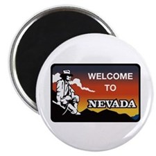 Welcome to Nevada - USA Magnet