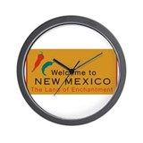Welcome to New Mexico - USA Wall Clock