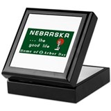 Welcome to Nebraska - USA Keepsake Box