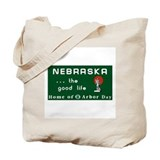 Welcome to Nebraska - USA Tote Bag