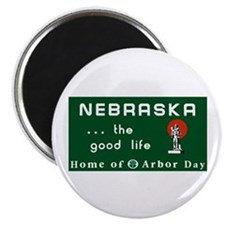 "Welcome to Nebraska - USA 2.25"" Magnet (100 pack)"
