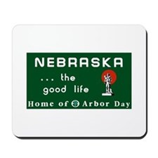 Welcome to Nebraska - USA Mousepad